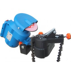 CHAIN SAW SHARPENER WITH MOTOR